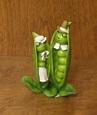 Peapod Caterpillar Pilgrims | Food art, Pea pods, Collectibles