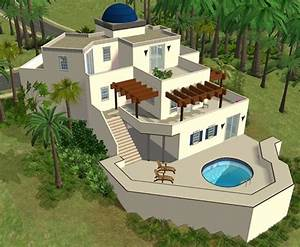 sims house spring4sims athen lot by sims 2 houses With sims 2 house decorating ideas
