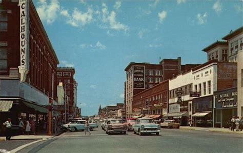 street scene  west broadway muskogee