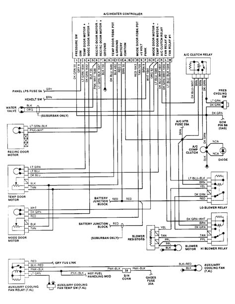 1995 Chevrolet K1500 Wiring Diagram by 1992 Gmc 4x4 5 7 Automatic My A C Stopped Working