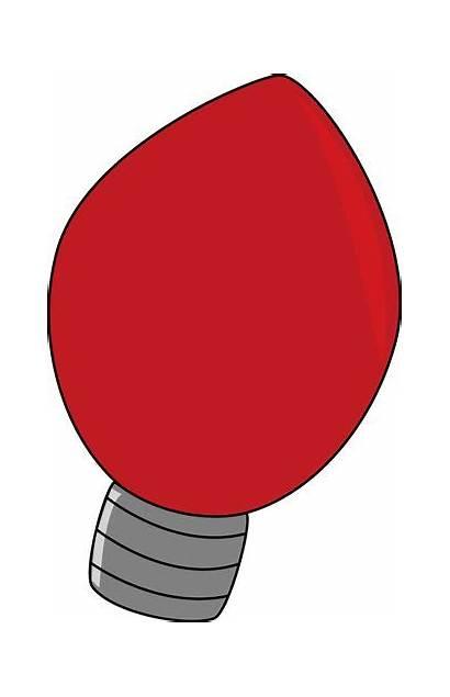 Christmas Lights Bulb Clipart Clip Tree Bulbs