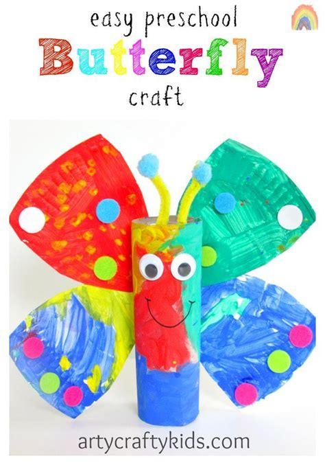 easy preschool butterfly craft 495 | Easy Preschool Butterfly Craft pin