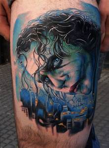 Joker Tattoos Designs, Ideas and Meaning   Tattoos For You