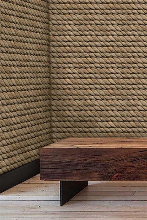 hemp rope eco friendly wallpaper pinterest paper
