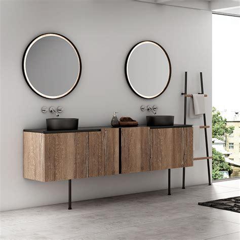 Meubles de salle de bain Urbain Industriel  Bois Métal
