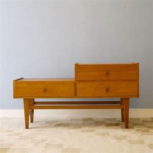 Petit Meuble Entrée : meuble appoint vintage scandinave entree annee 60 la maison retro ~ Teatrodelosmanantiales.com Idées de Décoration