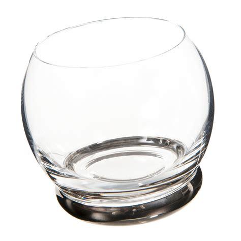 Bicchieri Argento by Bicchiere In Vetro Argento Culbuto Maisons Du Monde