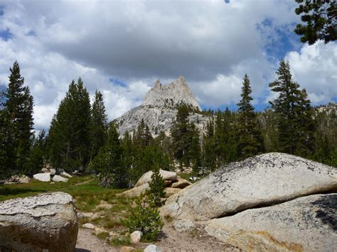 Upper Cathedral Lake Yosemite A Chilly Stop On The John