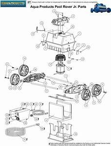 Pool Rover Jr  Parts