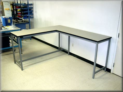 l tables l shaped tables at rdm industrial products