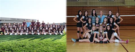 football volleyball picture day kingman middle school