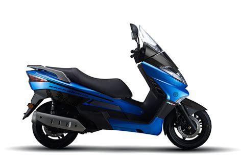 Review Benelli Zafferano 250 by Benelli Zafferano 250 Blue Right Side