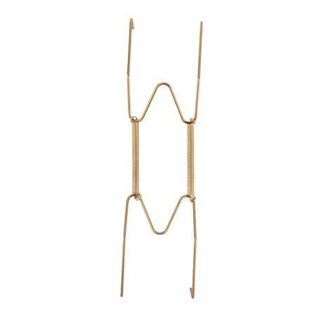 metal     spring plate hangers wall rack hook stand display gold tone walmartcom