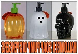 Simple, Pleasures, Hand, Soap, Refillable, Pump, Dispensers, Halloween
