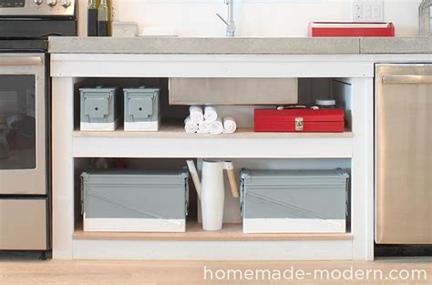Homemade Modern Ep Kitchen Cabinets