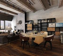 industrial interiors home decor converted industrial spaces becomes gorgeous apartments
