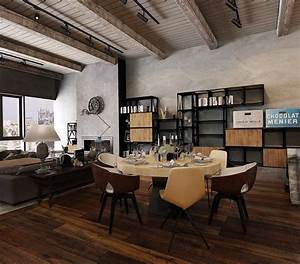 Converted, Industrial, Spaces, Becomes, Gorgeous, Apartments