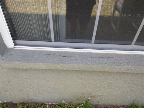 Exterior Window Ledge by Repair How To Properly Fix These Cracks In Exterior