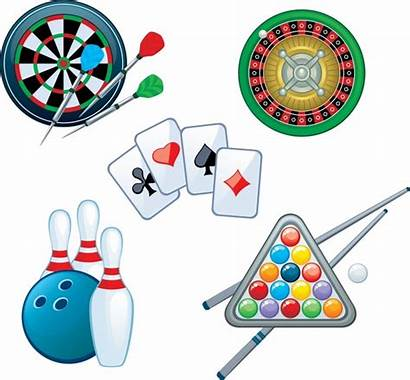 Indoor Recreation Vector Games Darts Playing Cards