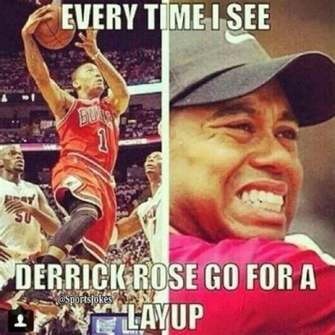 Derrick Rose Memes - every time i see derrick rose go for a layup