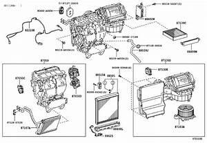 2014 Toyota Sienna Hvac Blower Case  Lower   Hvac Blower