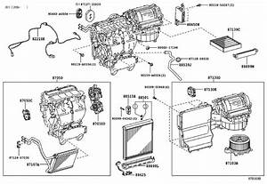 2014 Toyota Sienna Hvac Blower Case  Lower   Hvac Blower Case Assembly - 8713008110