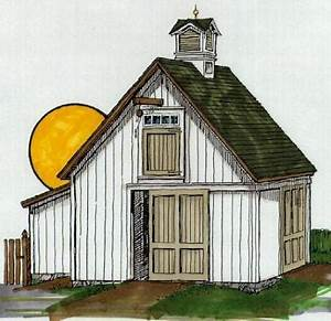 lofted barn storage building plans special51nsp