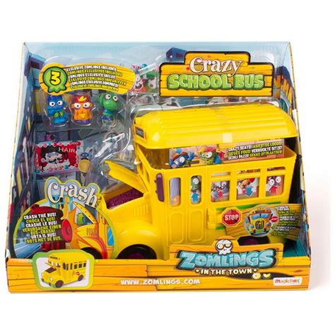 Barco Pirata Zomblings by Buy Zomlings Series 5 Crazy School Bus At Argos Co Uk