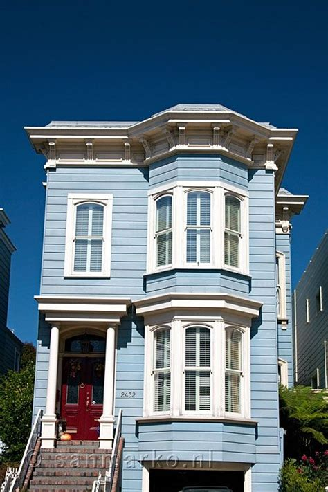 house house in san francisco a blue house in san francisco house colors