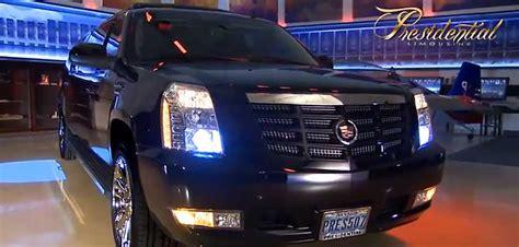 stretch escalade limo mini presidential limousine