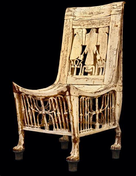 chair  tutankhamens tomb egypt egyptian
