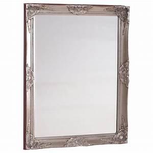 Großer Wandspiegel Silber : wandspiegel spiegel barock gro er silber hochglanz 97x57 antik bilderrahmen ebay ~ Markanthonyermac.com Haus und Dekorationen
