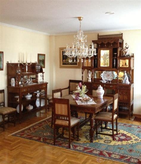 conjunto muebles comedor madera cerezo princi comprar