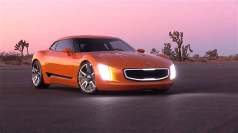kia supercar supercar kia gt4 stinger concept youtube