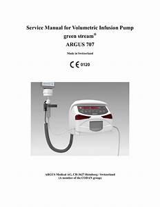 Argus 707 Infusion Pump Service Manual