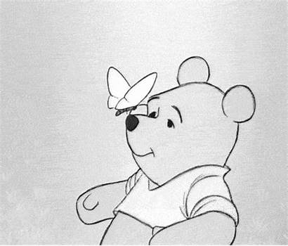 Disney Drawings Cartoon Things Pooh Winnie Drawing