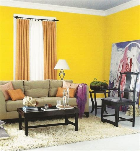 yellow gray living room design ideas