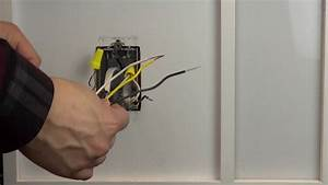 Wiring A Control With 1 Black Wires  One Yellow Wire  And One White Wire  Single Pole