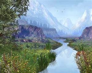 Mountain River - Animated Wallpaper Download