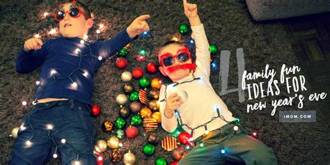 4 Ideas For Family Fun On New Year's Eve