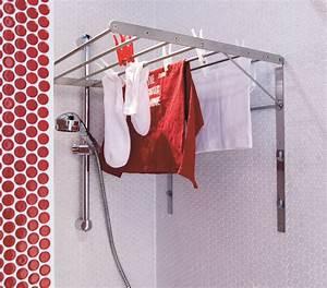 Sechoir A Linge Ikea : une salle de bains avec un coin buanderie ~ Dailycaller-alerts.com Idées de Décoration