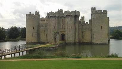 Castle Medieval Castles Wallpapers Fortress Desktop Cool