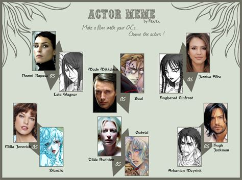 Actor Memes - actor meme by bory einfrost on deviantart