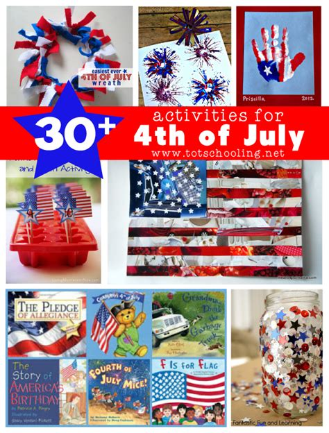 30 activities for 4th of july totschooling toddler 878 | cover