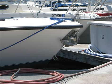 Boat Anchor Set Up by Through The Bow Stem Anchor Pulpit Windlass Setups