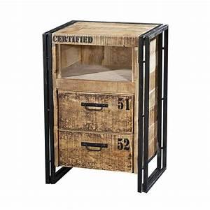 Petit Meuble Industriel : petit meuble style industriel ~ Teatrodelosmanantiales.com Idées de Décoration