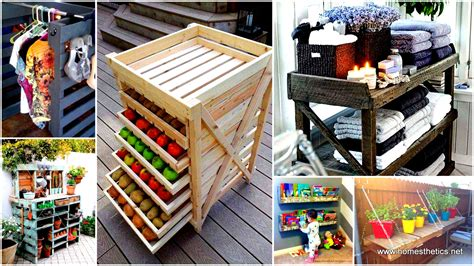 25 Beautiful Cheap Pallet Diy Storage Projects To Realize