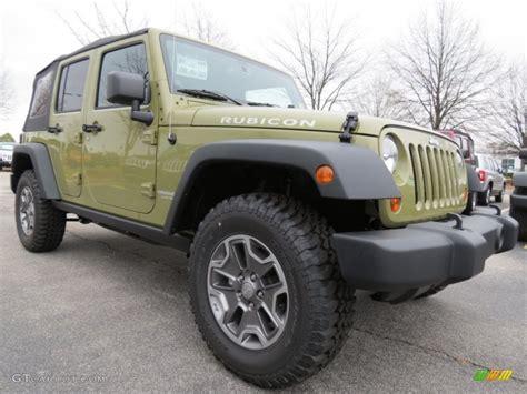 green jeep rubicon unlimited commando green 2013 jeep wrangler unlimited rubicon 4x4