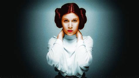 Carrie Fisher Princess Leia Colourized By Dave Daring On