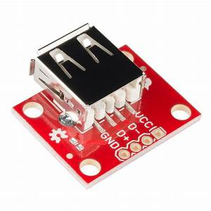 Usb Type A Female Breakout   From Sparkfun For  U20ac5 20